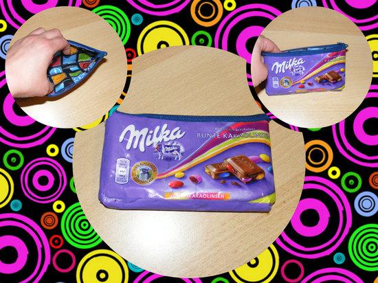 Produktfoto für Schnittmuster Kramtasche aus Schokoladenpapier von sewbeedoo
