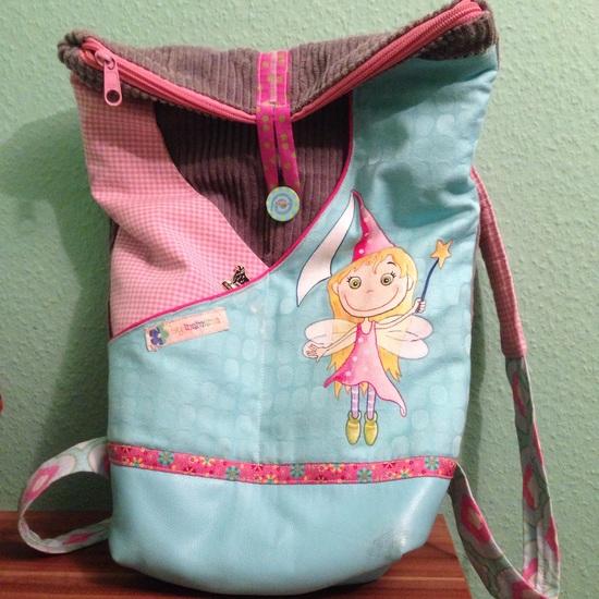 Produktfoto für Schnittmuster Kindergarten Rucksack von Frau Scheiner