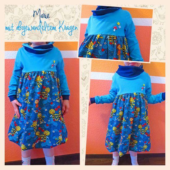 Produktfoto für Schnittmuster Ballonkleidchen Marie von FeeFee