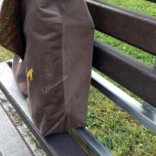 Foto zu Schnittmuster Herrentasche Bjarne von Frau Fadenschein