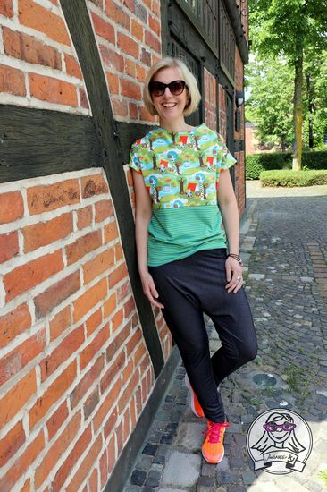 Foto zu Schnittmuster Pump-it-up-Hose für Damen von Hedi