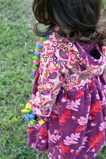 Foto zu Schnittmuster Ballonkleidchen Marie von FeeFee
