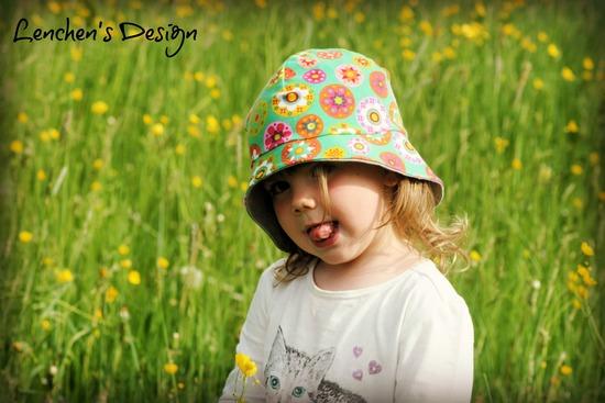Foto zu Schnittmuster #7 Jersey Sonnenhut von Kid5