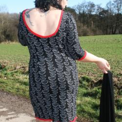 Foto zu Schnittmuster Winter Dress von sewera
