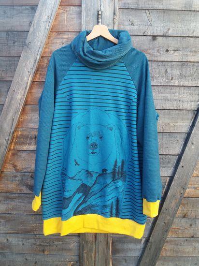 Produktfoto für Schnittmuster Hoodie/Sweater Meine Vanja plus von Meine Herzenswelt