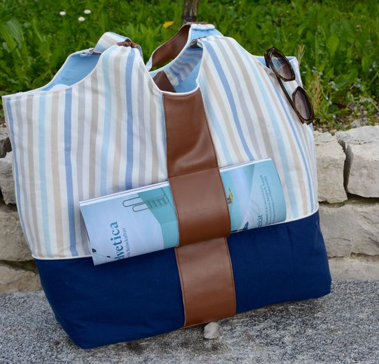 Produktfoto für Schnittmuster Strandtasche Sunshine Coast von Lillesol & Pelle
