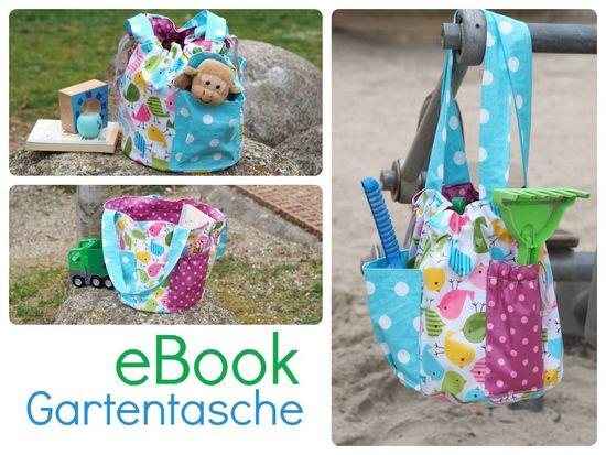 Produktfoto für Schnittmuster Gartentasche von Keko-Kreativ