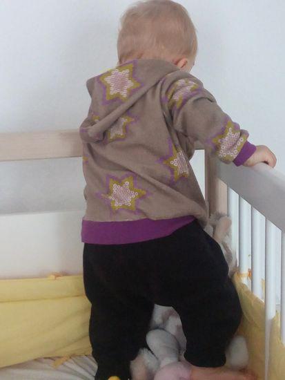 Schnittmuster Hoodie Edi von lolletroll als e-book für Babies, Jungen, Mädchen in Kategorie Oberteil (74–164)