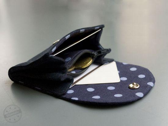 Produktfoto für Schnittmuster Kleiner Geldbeutel von Conga-Bären