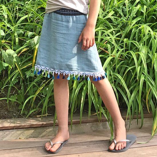 Produktfoto für Schnittmuster Schnecke - Jerseyrock von Hummelhonig
