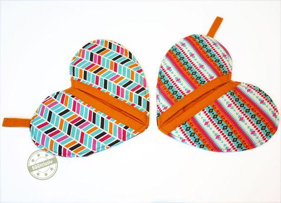 Produktfoto für Schnittmuster Herzige Topfhandschuhe von Ringelmiez