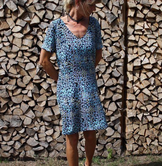 Produktfoto für Schnittmuster Kleid Massima von SchnittmusterLounge