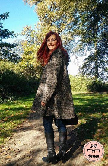 Foto zu Schnittmuster Mantel Ginger von Anniway