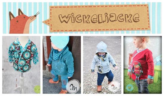 Produktfoto für Schnittmuster Wickeljacke Frido von Annas Country