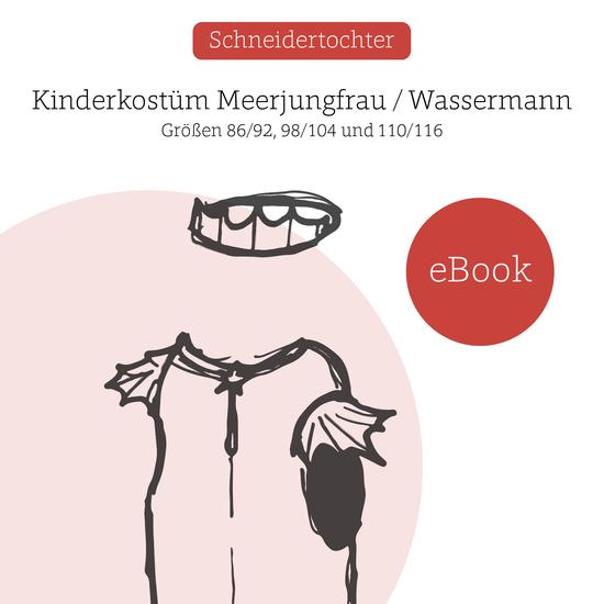 Foto zu Schnittmuster Kinderkostüm Meerjungfrau / Wassermann von Schneidertochter