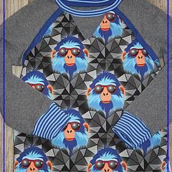 Foto zu Schnittmuster Raglanshirt mit Knopfleiste von klimperklein