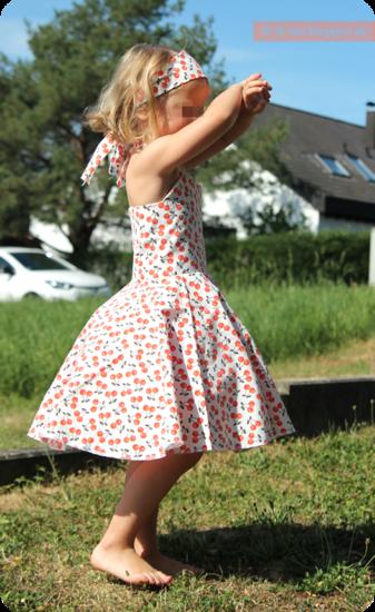 Produktfoto für Schnittmuster Petticoat-Kleid von SchNÄHwittchen