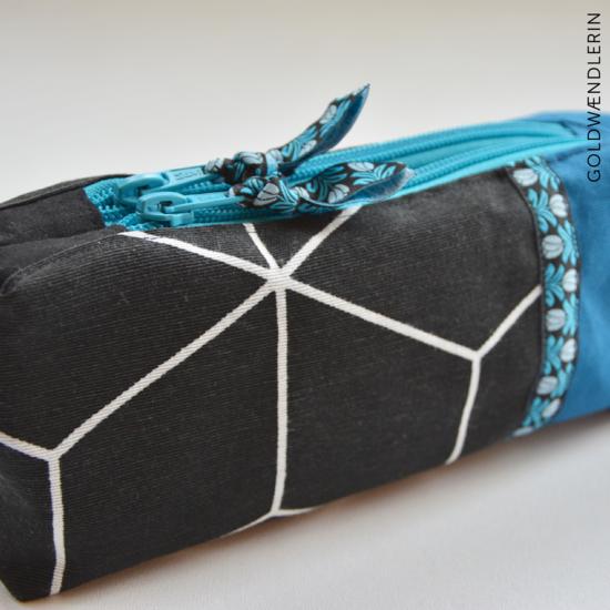 Produktfoto für Schnittmuster Doppel-Reißverschluss-Täschchen von Weisnähschen