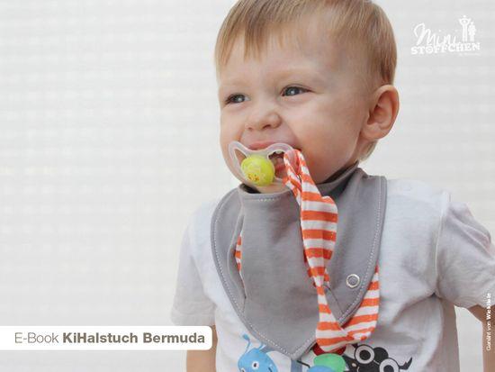 Schnittmuster Halstuch Bermuda von Khanysha als e-book für Babies in Kategorie Sonstiges