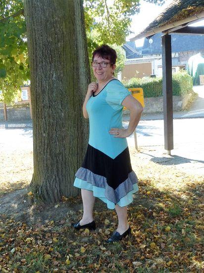 Schnittmuster Feenzauber for Ladys von M.B.Work's als e-book, DIN A0-Datei für Damen in Kategorie Kleid