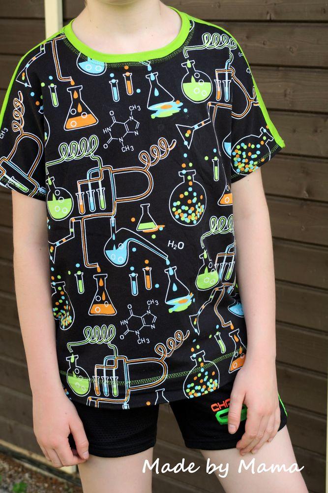 Schnittmuster Eazzy.Shirt Boy von Sara & Julez als e-book für Jungen, Babies in Kategorie Oberteil (74–164)