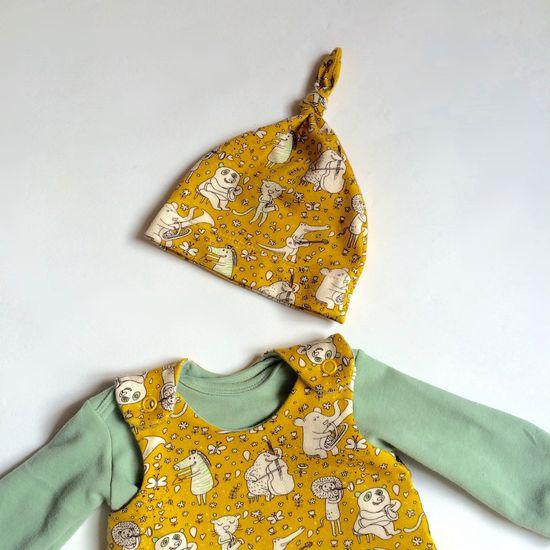 Produktfoto für Schnittmuster Klimperkleines Knotenmützchen von klimperklein