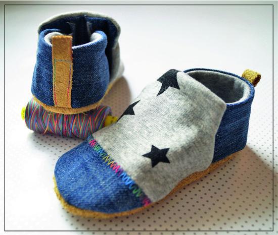 Foto zu Schnittmuster Babyschuh Stoffi von Sarona Homemade