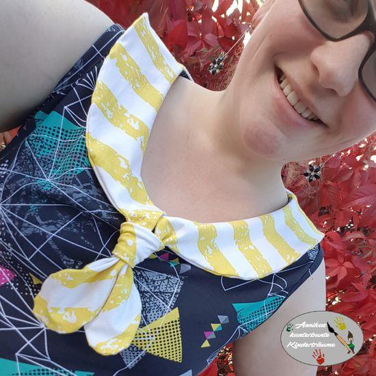 Produktfoto für Schnittmuster Matrosenkleid Enie Damen von Bunte Nähigkeiten