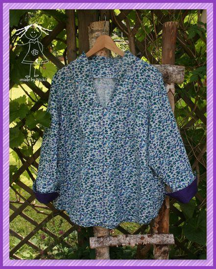 Produktfoto für Schnittmuster Lillesol women No.38 Flora-Bluse von Lillesol & Pelle