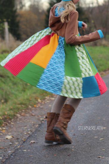 Produktfoto für Schnittmuster Lottis Drehkleid von MiToSa-Kreativ