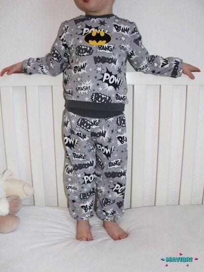 Foto zu Schnittmuster Schlafanzug Good night Bärlin von Berlinerie