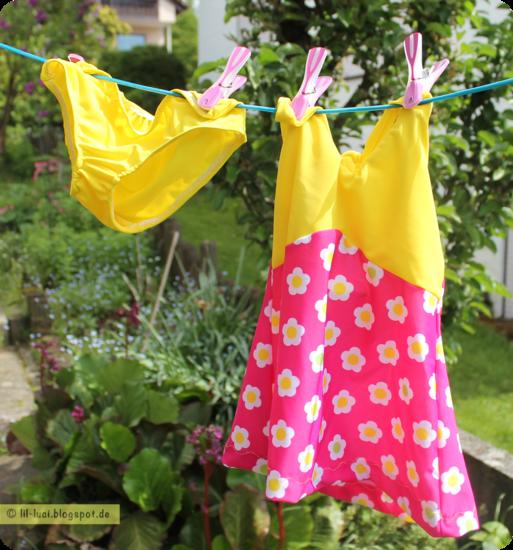 Schnittmuster Badeanzug & Bikini von Erbsenprinzessin