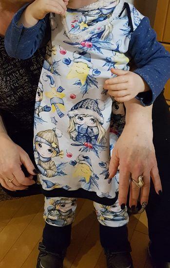 Produktfoto für Schnittmuster Babyballonkleid Wirbelkind von lila wie liebe