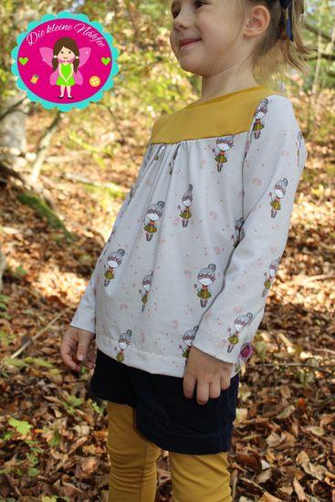 Foto zu Schnittmuster Girly-Shirt von KonfettiPatterns