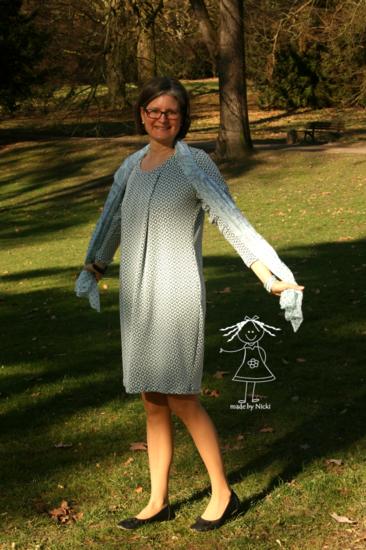 Foto zu Schnittmuster Kleid Amelie für Damen von Fadenkäfer