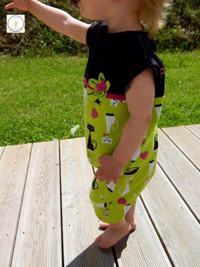 Produktfoto für Schnittmuster Sommeroverall Sunny Leon von Nähcram