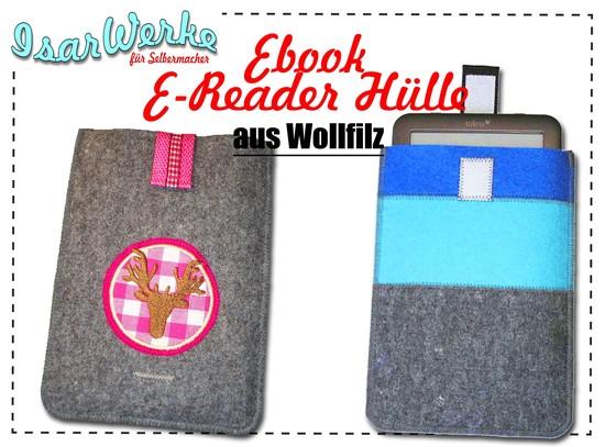 Foto zu Schnittmuster E-Reader Hülle von IsarWerke