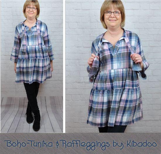 Produktfoto für Schnittmuster Boho-Kleid/Tunika Nelina von ki-ba-doo