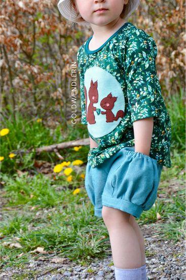 Produktfoto für Schnittmuster Trägerkleid von klimperklein