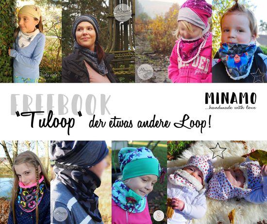 Produktfoto für Schnittmuster Tuloop - der etwas andere Loop von Minamo
