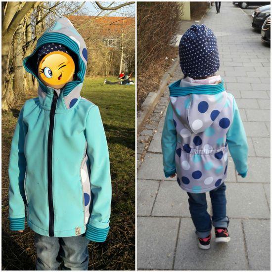 Produktfoto für Schnittmuster Softshellmantel/-jacke Hamburg Kids von Pech & Schwefel