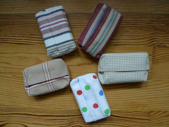 Foto zu Schnittmuster Taschentuch-Tasche (tatüta) von Bozontee