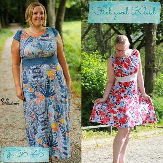 Produktfoto für Schnittmuster Feel Good Kleid von Berlinerie