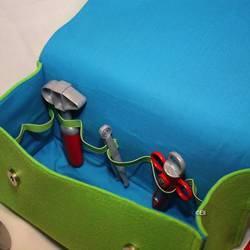Foto zu Schnittmuster Arztkoffer aus Filz zum Spielen von shesmile