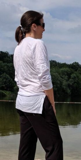 Produktfoto für Schnittmuster Knotenshirt Darya 158-46 von Zierstoff