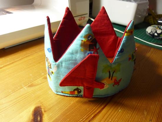 Produktfoto für Schnittmuster Geburtstagskrone (Faschingskrone) von Erbsenprinzessin