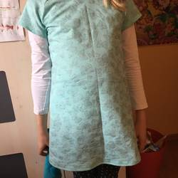Foto zu Schnittmuster Raglankleid mit Knopfleiste von klimperklein