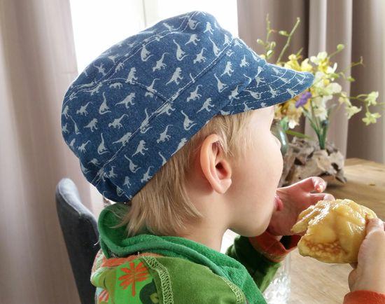 Produktfoto für Schnittmuster Coole Kappe von klimperklein