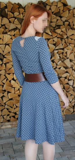 Schnittmuster Basic Winterkleid für Damen von ki-ba-doo