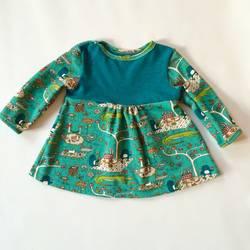 Foto zu Schnittmuster Kinderkleid von klimperklein